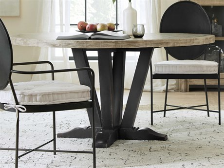 Hooker Furniture Ciao Bella Black 60'' Wide Round Dining Table