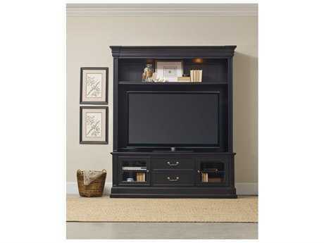 Hooker Furniture Clermont Black Entertainment Center HOO537170202