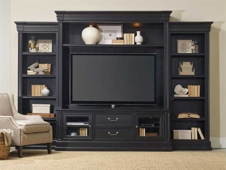 Hooker Furniture Clermont Black Entertainment Center HOO537170222