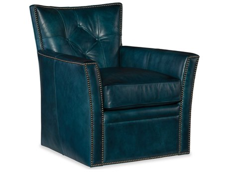 Hooker Furniture Conner Checkmate Cover Swivel Club Chair HOOCC503SW039