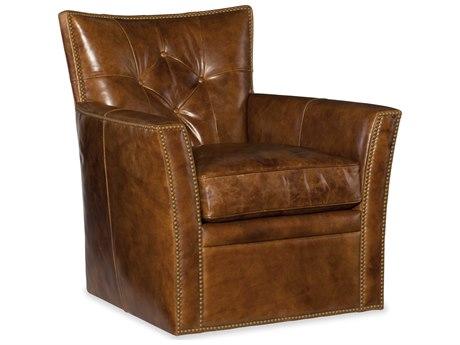 Hooker Furniture Conner Heavy Metal Gamma Swivel Club Chair HOOCC503SW087