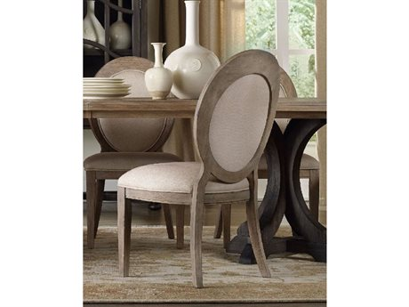Hooker Furniture Corsica Oval Back Light Wood Dining Side Chair HOO518075412