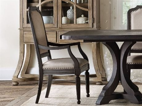 Hooker Furniture Corsica Dark Wood Dining Arm Chair