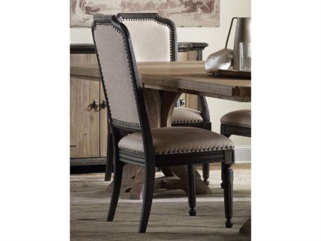 Hooker Furniture Corsica Dark Wood Side Dining Chair