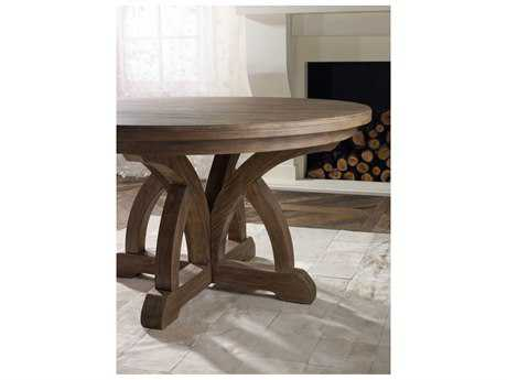 Hooker Furniture Corsica Light Wood 54'' Wide Round Dining Table HOO518075203