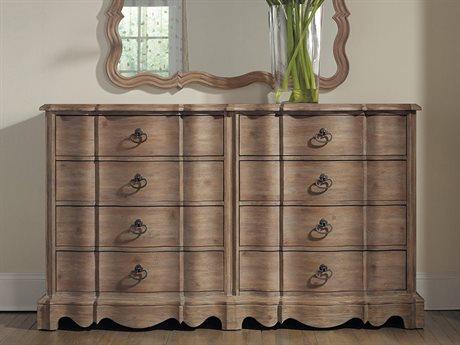 Hooker Furniture Corsica Light Wood Double Dresser