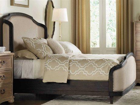 Hooker Furniture Corsica Dark Wood King Size Shelter Panel Bed HOO528090866