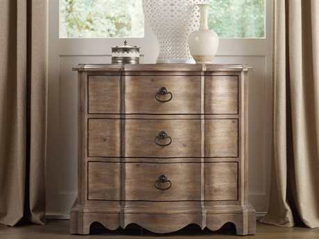 Hooker Furniture Corsica Light Wood 32''W x 18''D Rectangular Nightstand
