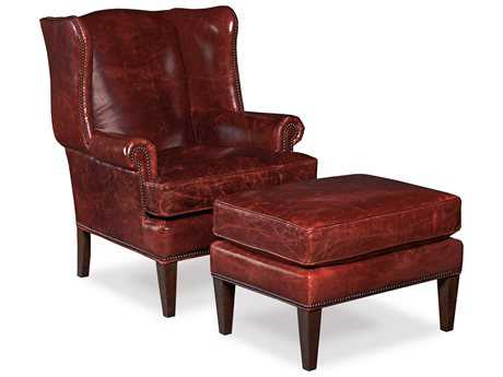 Hooker Furniture Covington Bogue Chair and Ottoman Set HOOCC408069SET