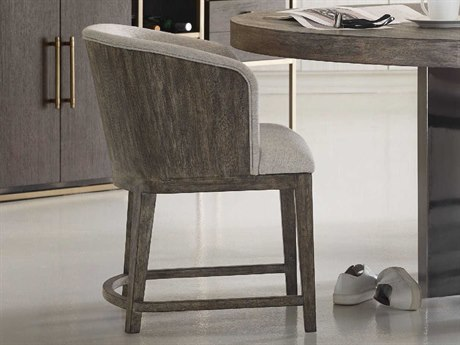 Hooker Furniture Curata Montileu Opal with Medium Greige Dining Arm Chair
