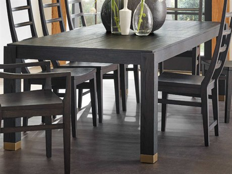 Hooker Furniture Curata Midnight 82-122''W x 44''D Rectangular Dining Table with Extension HOO160075200ADKW