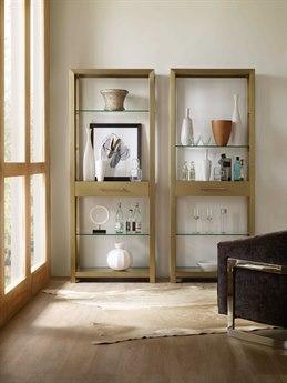 Hooker Furniture Curata Brushed Brass Bunching Etagere