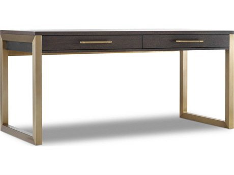 Hooker Furniture Curata Midnight 68''W x 26''D Rectangular Short Left/ Right Freestanding Secretary Desk