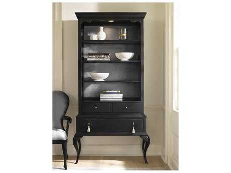 Hooker Furniture Cynthia Rowley Black Twin Peak Display Cabinet HOO158675906BLK1