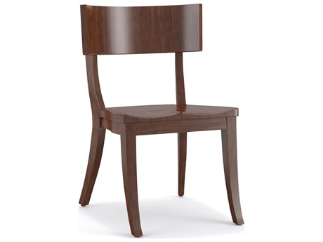 Hooker Furniture Cynthia Rowley Mozambique Scoop Wood Klismos Dining Side Chair (Sold in 2)