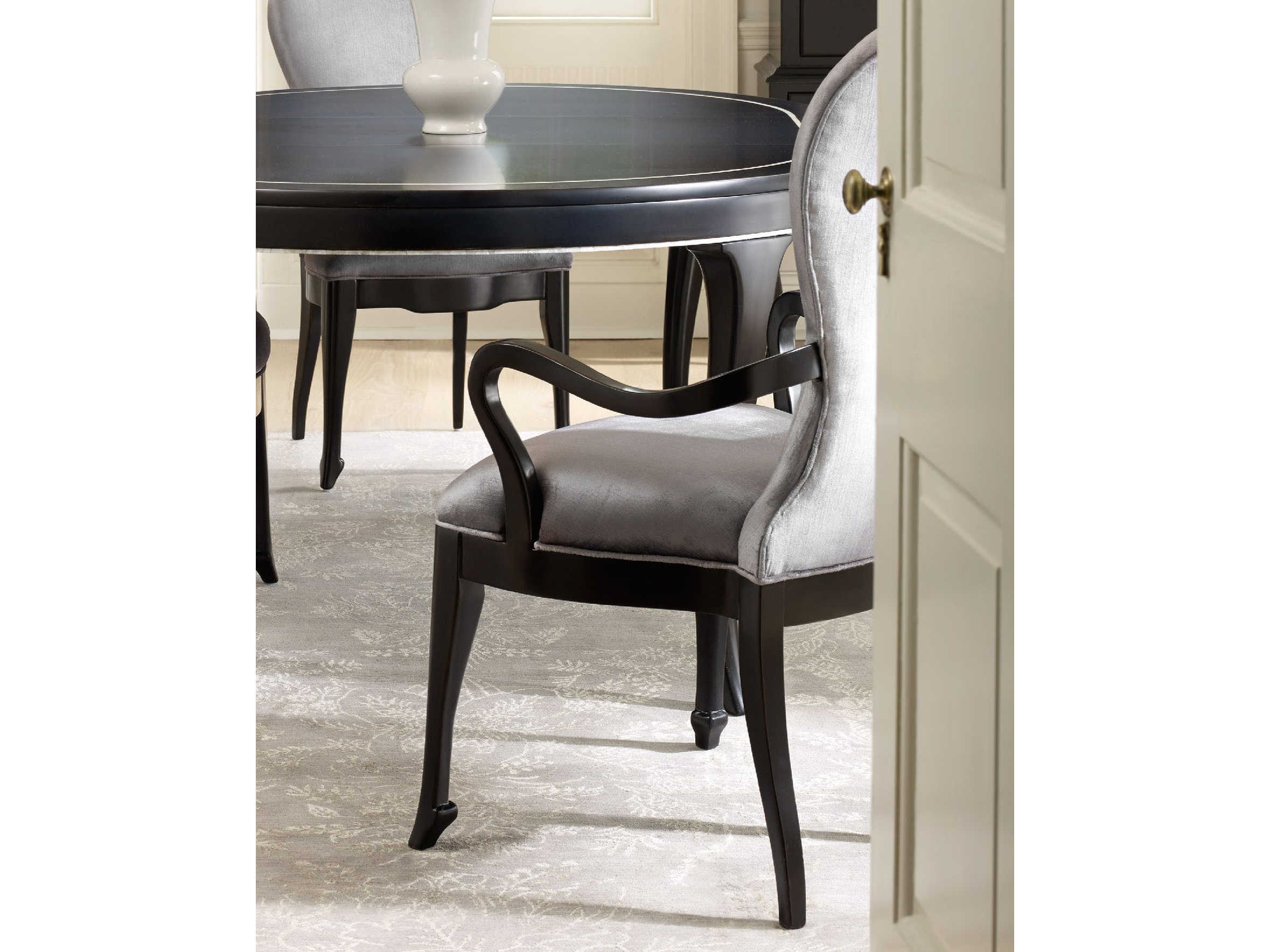 Furniture Cynthia Rowley Phantom With Black Dining Arm Chair Sold In 2
