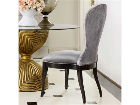 Hooker Furniture Cynthia Rowley Phantom With Black Side Dining Chair