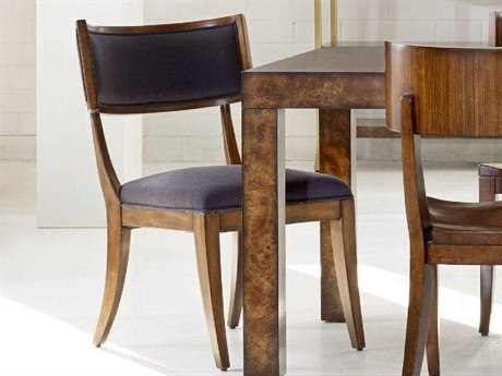 Hooker Furniture Cynthia Rowley Zuma Caviar with Mozambique Klismos Dining Side Chair (Sold in 2) HOO158675410GBRN1