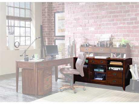 Hooker Furniture Danforth Rich Medium Brown Computer Credenza HOO38810364
