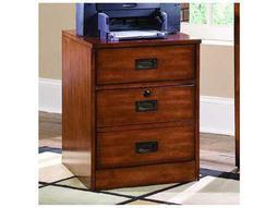 Danforth Rich Medium Brown Mobile File Cabinet