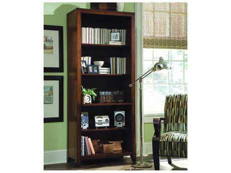 Hooker Furniture Danforth Rich Medium Brown Tall Bookcase