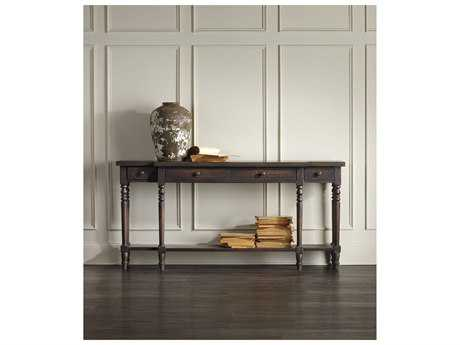 Hooker Furniture Davalle Dark Wood 72''L x 14''W Rectangular Console Table