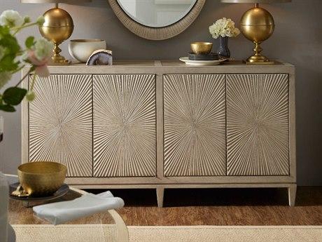 Hooker Furniture Elixir Serene Grey Beige 71''W x 18''D Rectangular Buffet