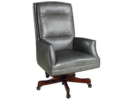 Hooker Furniture Empyrean Ash Dark Wood Executive Swivel Chair HOOEC700095
