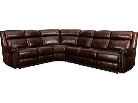 Hooker Furniture Esme Chocolate Sectional Sofa