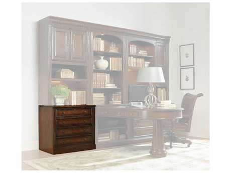 Hooker Furniture European Renaissance Ii Dark, Rich Brown Finish With Some Physical Distressing File Cabinet HOO37410416