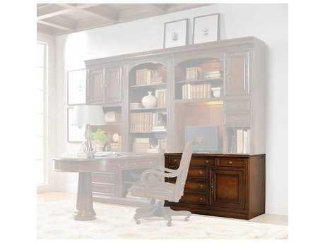 Hooker Furniture European Renaissance II Dark Rich Brown Computer Credenza HOO37410434