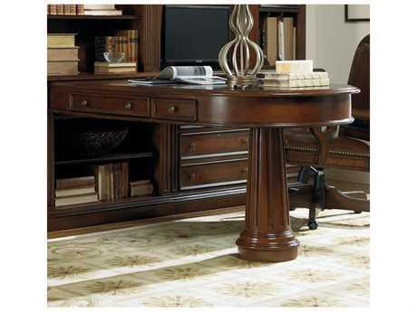 Hooker Furniture European Renaissance II Dark Rick Brown 81''L x 32''W Computer Desk HOO37410424