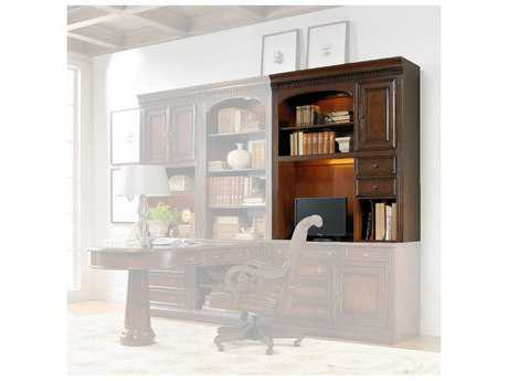 Hooker Furniture European Renaissance II Dark Rich Brown Computer Credenza hutch HOO37410435