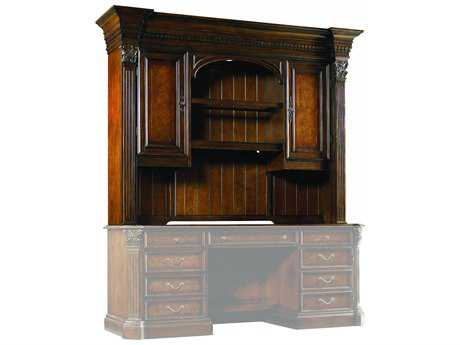 Hooker Furniture European Renaissance II Dark Rich Brown Computer Credenza hutch HOO37410467