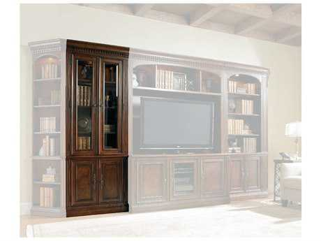 Hooker Furniture European Renaissance Ii Dark, Rich Brown Finish With Some Physical Distressing Bookcase HOO37410447