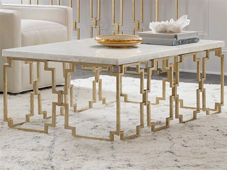 Fabulous Hooker Furniture Evermore Kala White Marble Gold 52 Wide Rectangular Coffee Table Squirreltailoven Fun Painted Chair Ideas Images Squirreltailovenorg