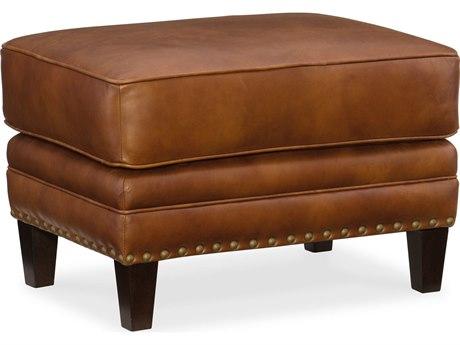 Hooker Furniture Exton Old English Saddle Ottoman HOOSS387OT087
