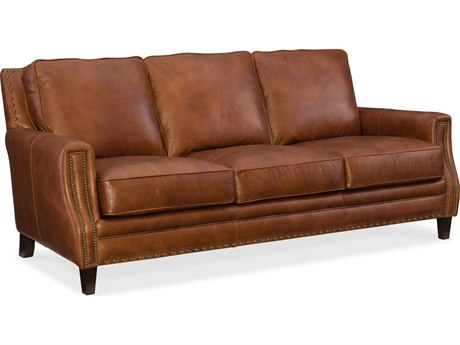 Hooker Furniture Exton Old English Saddle Sofa