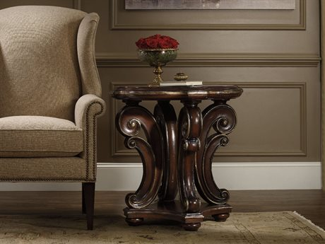 Hooker Furniture Grand Palais Dark Wood 28'' Wide Round End Table HOO527280114