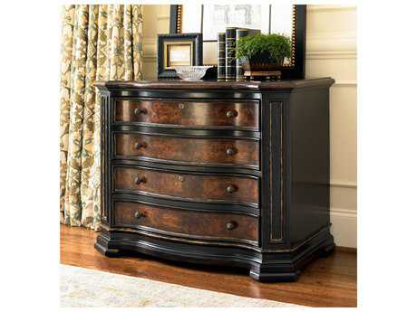 Hooker Furniture Grandover Black with Gold Accent Lateral File Cabinet