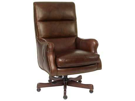 Hooker Furniture Halona Native Dark Wood Executive Chair HOOEC389085