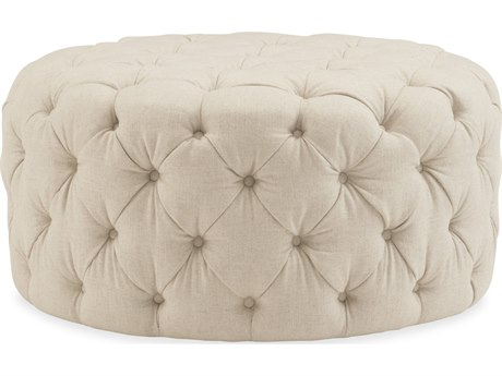 Hooker Furniture Hazel Geneva Natural Ottoman HOOCO391010