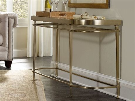 Hooker Furniture Highland Park 60''L x 17''W Demilune Console Table HOO544380151