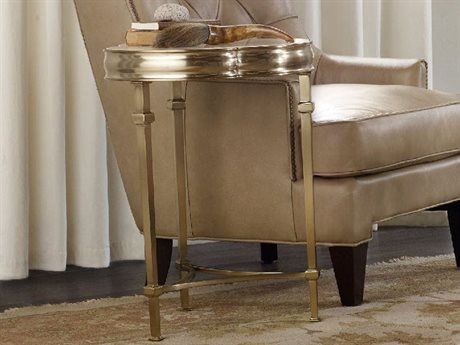 Hooker Furniture Highland Park 20'' Wide Round Martini End Table HOO544380117
