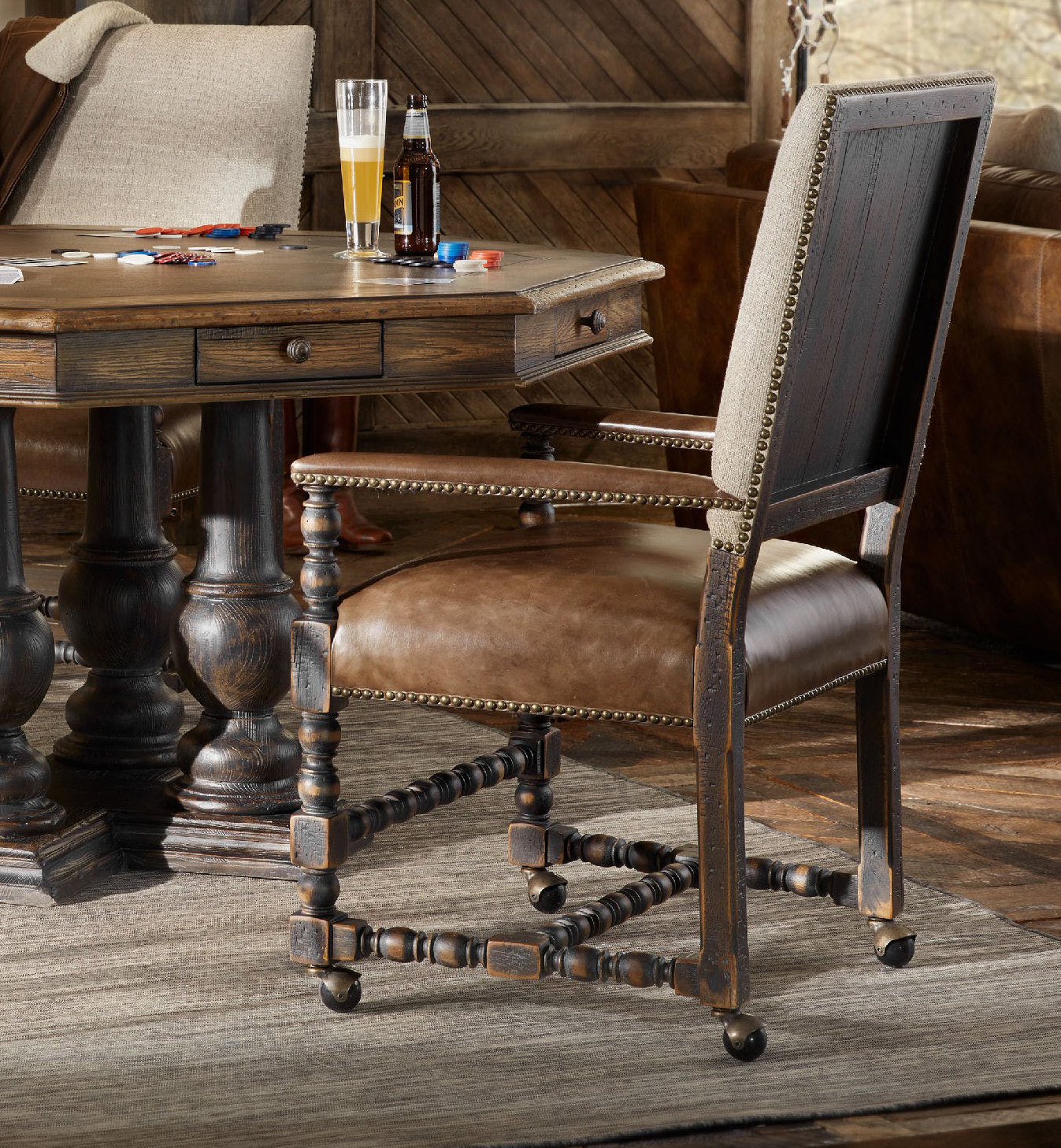 Furniture Hill Country Black Arm, Hill Country Dining Room Furniture