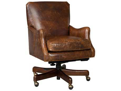 Hooker Furniture Imperial Empire Natchez Brown Executive Swivel Chair HOOEC438089