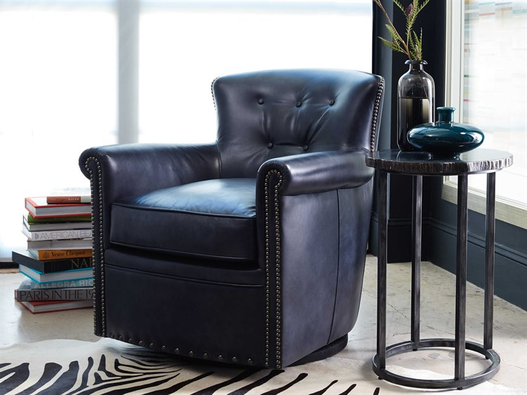 Hooker Furniture Jacob Checkmate Ch&ion Swivel Club Chair CC510-SW-048 & Hooker Furniture Jacob Checkmate Champion Swivel Club Chair ...