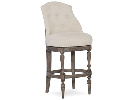 Hooker Furniture Kacey Gray with Samantha Taupe Counter Stool