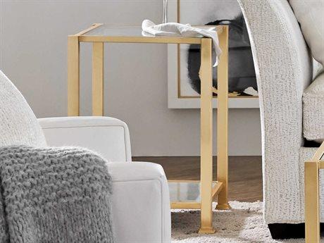 Hooker Furniture Kara Golds 18'' Wide Square End Table