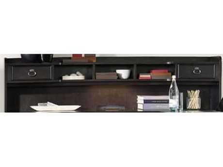Hooker Furniture Kendrick Dark Wood L-Desk Hutch HOO106010367